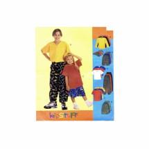 Boys Shirt T-Shirt Pants Shorts Baseball Hat McCalls 9206 Sewing Pattern Size 7 - 8 - 10