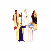 Religious Nativity Costumes King Angel McCalls 2339 Sewing Pattern Size Extra Small Bust / Chest 30 1/2 - 31 1/2