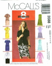 McCall's 3588 Misses Jackets & Skirts Size 10 - 16