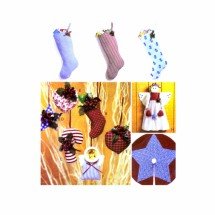 Christmas Decorations McCalls 3840 Crafts Sewing Pattern