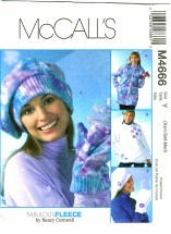 McCall's 4666 Misses Jackets Hats Mittens Size 4 - 14