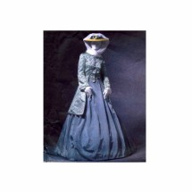 Misses Civil War Era Coat Skirt Shawl Costume McCalls 4697 Sewing Pattern Size 6 - 8 - 10 - 12