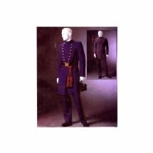 Mens Civil War Costumes McCalls 4745 Sewing Pattern XLG - XXL - XXXL