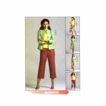 Misses Jacket Top Skirt Pants McCalls 4878 Sewing Pattern Size 6-8-10-12
