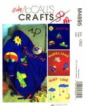 McCall's 4895 Jennifer Lokey Fleece Blankets