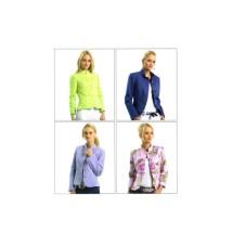 Misses Princess Seam Jackets McCalls 5106 Sewing Pattern Full Figure Size 14 - 16 - 18 - 20