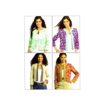 Misses Jackets and Flowers McCalls 5107 Sewing Pattern Size 6 - 8 - 10 - 12