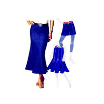 Misses Skirts in Three Lengths McCalls 5429 Sewing Pattern Size 4-6-8-10-12