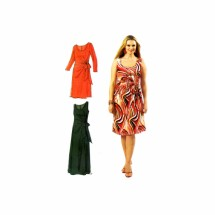Womens Fitted Dresses McCalls 6363 Sewing Pattern Size 18 - 20 - 22 - 24