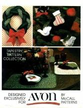 McCall's 5380 Avon Christmas Crafts