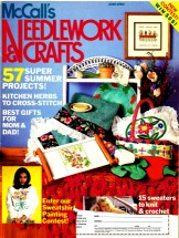 McCall's Needlework & Crafts Magazine Back Issue June 1990