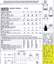 McCall's 3372