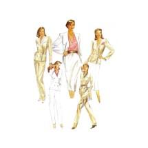 Misses Jacket Skirt Pants McCalls 6999 Vintage Sewing Pattern Size 10 Bust 32 1/2