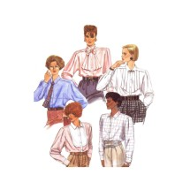 Misses Blouse & Tie McCalls 2070 Vintage Sewing Pattern Size 10 Bust 32 1/2