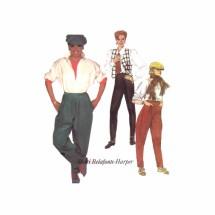 Misses Stirrup Pants Shari Belafonte-Harper McCalls 2077 Vintage Sewing Pattern Size 12 Waist 26 1/2