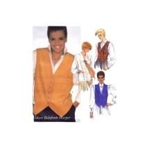 Shari Belafonte-Harper Vests McCalls 2096 Vintage Sewing Pattern Size 6 Bust 30 1/2