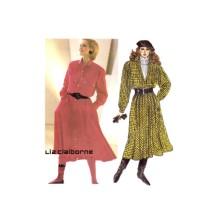 Liz Claiborne Dress McCalls 2098 Vintage Sewing Pattern Size 12 Bust 34