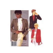 Misses Lined Buttoned Jacket Palmer & Pletsch McCalls 2112 Vintage Sewing Pattern Size 14 Bust 36