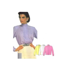 Misses Loose Fitting Blouse McCalls 2121 Vintage Sewing Pattern Size 10 Bust 32 1/2