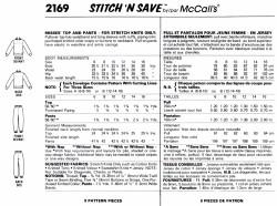 McCall's 2169