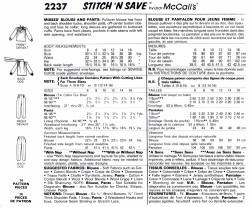 McCall's 2237