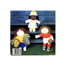 Soft Sculpture Sporty Doll Clothes McCalls 784 Crafts Sewing Pattern