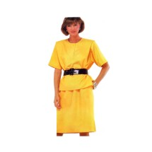 McCalls 2381 Misses Top and Skirt Vintage Sewing Pattern Size 10 - 12 - 14