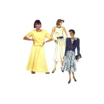 McCalls 2406 Misses Jacket and Dress Vintage Sewing Pattern Size 10 - 12 - 14