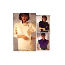 Misses Cowl Neck Tops McCalls 2709 Vintage Sewing Pattern Size 8 - 10 - 12