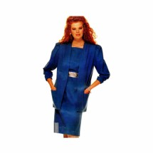 Misses Jacket and Dress McCalls 2811 Vintage Sewing Pattern Size 8 - 10 - 12
