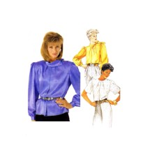 Misses Pullover Blouse McCalls 2826 Vintage Sewing Pattern Size 14 Bust 36