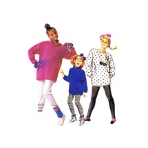 Girls Top and Pants McCalls 2835 Vintage Sewing Pattern Size 7