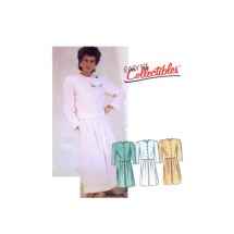 Misses Lined Jacket and Skirt McCalls 2951 Vintage Sewing Pattern Size 10 Bust 32 1/2