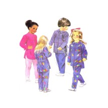 Little Girls and Boys Shirt and Pants McCalls 3317 Vintage Sewing Pattern Size 4 - 5 - 6