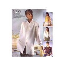 Misses Loose Fitting Blouse McCalls 5079 Vintage Sewing Pattern Size 14 - 16 - 18