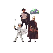 Boys Knight King Robin Hood Renaissance Medieval Costumes Zooterz Costumes McCalls 6720 Sewing Pattern Size 5 - 6