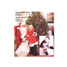Santa Claus Costume Bag Doll McCalls 7384 Sewing Pattern Bust / Chest 42 - 44