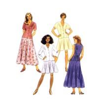 Misses Jacket Vest Skirt McCalls 7589 Vintage Sewing Pattern Size 10 - 12 - 14 Bust 32 1/2 - 34 - 36
