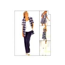 Misses Dress Top Jacket Pants Shorts McCalls 8178 Vintage Sewing Pattern Size 14 - 16 - 18