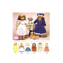 Gotz Doll or American Girl Doll Clothes McCalls 8555 Vintage Sewing Pattern