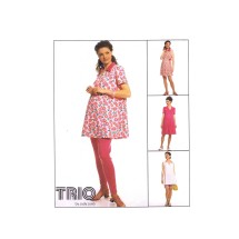 Maternity Top Rompers Leggings McCalls 8811 Vintage Sewing Pattern Size 12 - 14 - 16