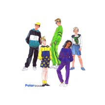 Boys and Girls Pullover Tops Pull-On Pants and Shorts PolarGear McCalls 8973 Sewing Pattern Size 7 - 8 - 10