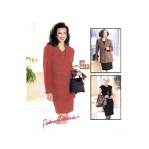 Misses Princess Seam Dress & Jacket Palmer & Pletsch McCalls 9018 Sewing Pattern Size 16 Bust 38
