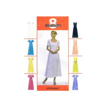 Misses Princess Seam Dress McCalls 9247 Vintage Sewing Pattern Size 14 - 16 - 18