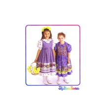 Girls Dress Pinafore Vest Jelly Bean Junction McCalls 8903 Vintage Sewing Pattern Size 6 - 7 - 8
