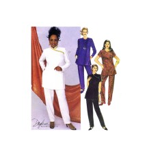 Daphne Maxwell Reid Misses Asymmetrical Tunic and Pants McCalls 9394 Vintage Sewing Pattern Size 10 - 12 - 14