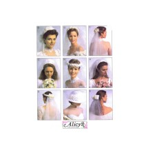 Bridal Veils and Hat McCalls 2057 Sewing Pattern