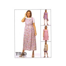 Maternity Dress Top Pants Shorts McCalls 2224 Sewing Pattern Size 10 - 12 - 14