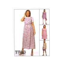 Maternity Dress Top Pants Shorts McCalls 2224 Sewing Pattern Size 10 - 12 - 14