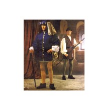 Mens Renaissance Costume Jacket Hat Vest Shirt Leggings Belt McCalls 2248 Sewing Pattern Chest 34 - 36 - 38 - 40 - 42 - 44